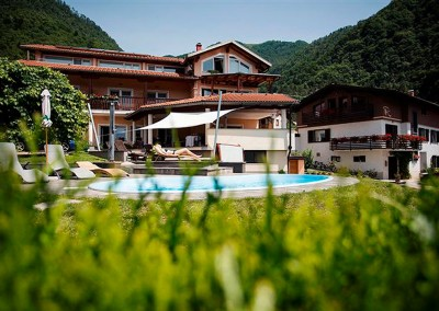 This small hotel has been present in the Tolmin area for years, their loyal guests returning again and again to admire the beauty of the surrounding villages. Its owners decided to provide even more fun for the guests staying at their leisure facility. We assisted with building a swimming pool and landscaping. Enjoying their aquatic mischief, the guests have responded with amazing satisfaction.